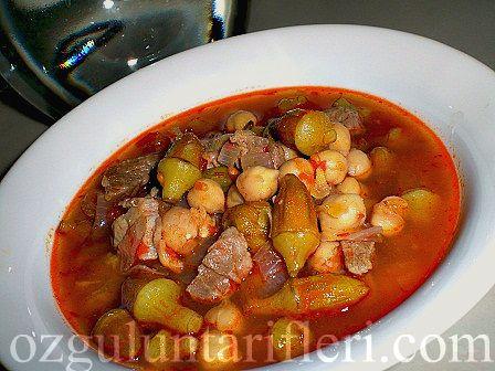 Nohutlu bamya yemeği recipe - Foodista.com