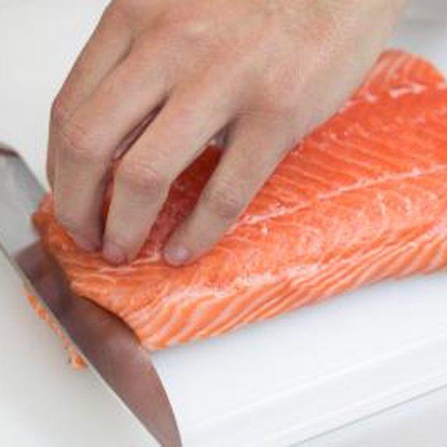 How to Pan-Fry Salmon Steaks