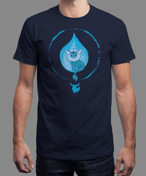 """""""Choose Water"""" is today's £8/€10/$12 tee for 24 hours only on www.Qwertee.com Pin this for a chance to win a FREE TEE this weekend. Follow us on pinterest.com/qwertee for a second! Thanks:)"""