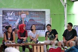 Talkshow meningkatkan kesadaran dan kepedulian terhadap lingkungan hidup