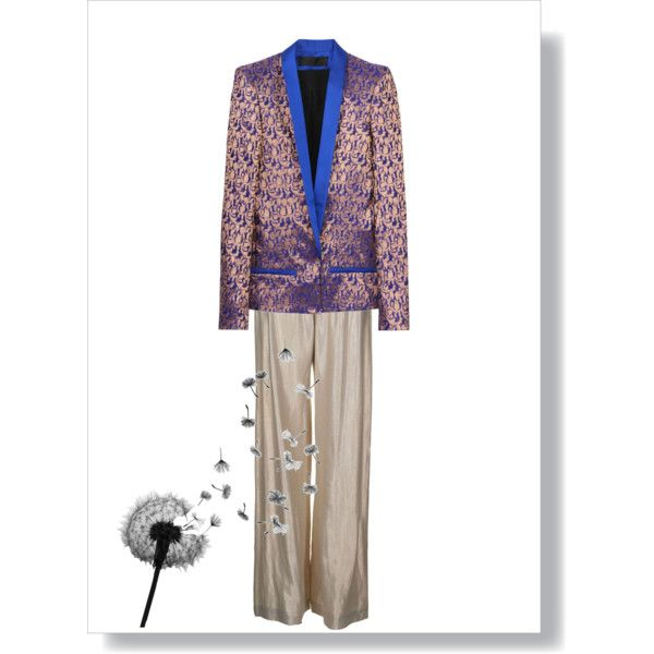 """Empty Suit"", created by sarah-siegel on Polyvore"