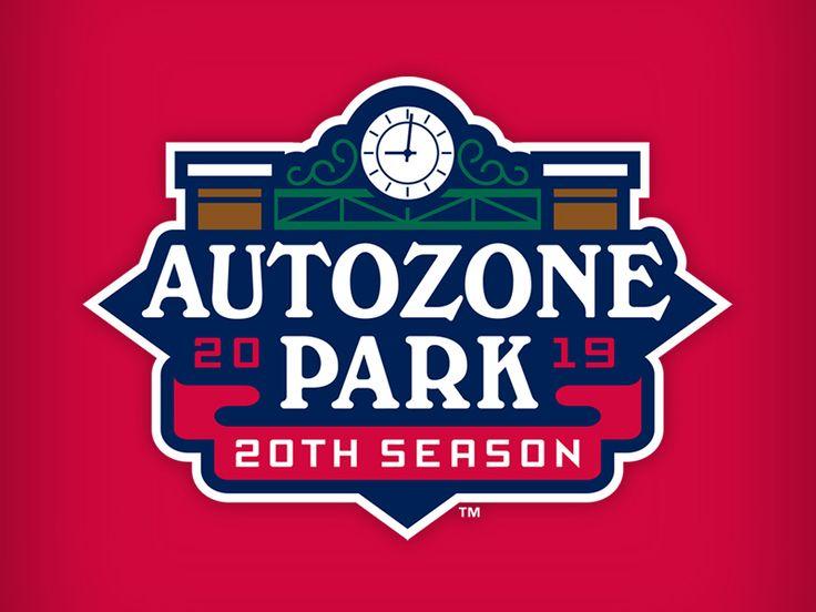 Autozone Park 20 Event Logo Athletics Logo Park