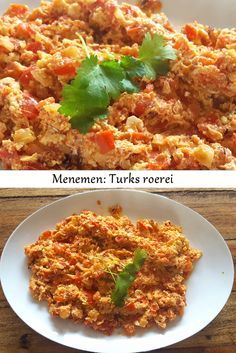 Menemen - Turks roerei Het recept staat nu op outmijnkeuken.nl