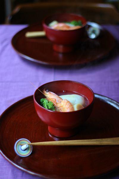 One of my many favs... Japanese dish, Ozoni お雑煮
