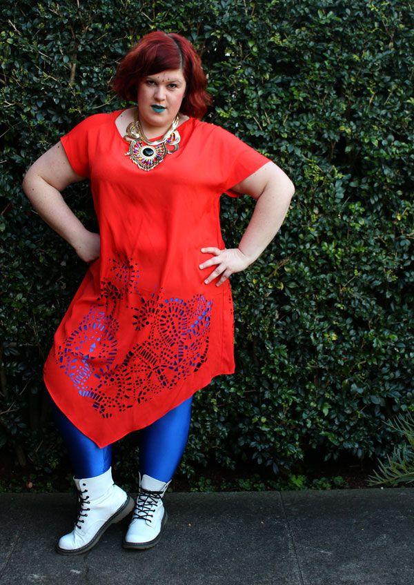 Work it, Own it, Use it!: Aussie Curves: Colour Clash