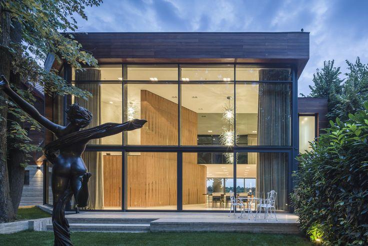 Garden view, Daniel Ciocazanu / dooistudio architects , foto credits Cosmin Dragomir