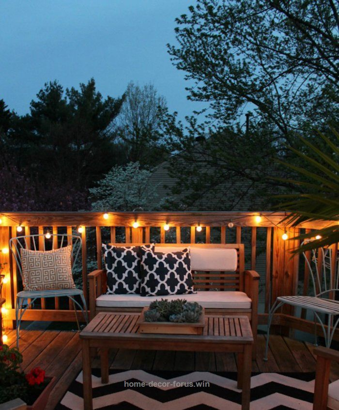35 Cool Outdoor Deck Designs: Tips To Make Even Small Space Patios Look Inviting-great