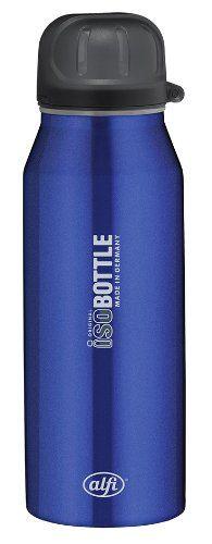 alfi 5337.656.035 Isolier-Trinkflasche isoBottle, 0,35 L, edelstahl, rein blau - http://geschirrkaufen.online/alfi/rein-blau-alfi-5337-696-050-isolier-trinkflasche-0