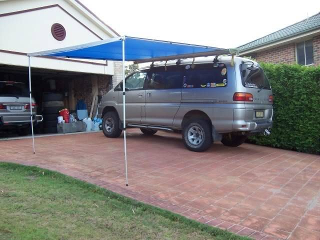 How To Make Your Own Side Awning Camping Campervan