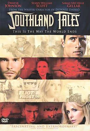 """Southland Tales DVD from Director of Donnie Darko Dwayne """"The Rock"""" Johnson 