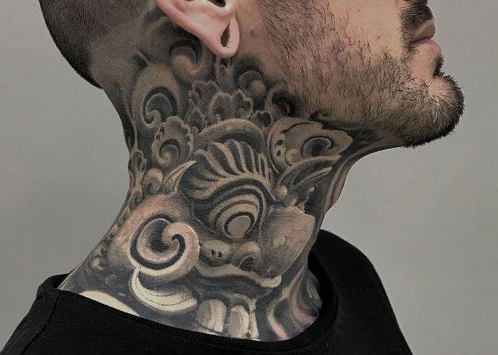125 Best Neck Tattoos For Men Cool Ideas Designs 2020 Guide Neck Tattoo For Guys Best Neck Tattoos Back Of Neck Tattoo