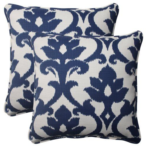 Pillow Perfect Indoor/Outdoor Bosco Corded Throw Pillow, 18.5-Inch, Navy, Set of 2 Pillow Perfect http://www.amazon.com/dp/B00BPU7476/ref=cm_sw_r_pi_dp_fS18ub1M7MD3E