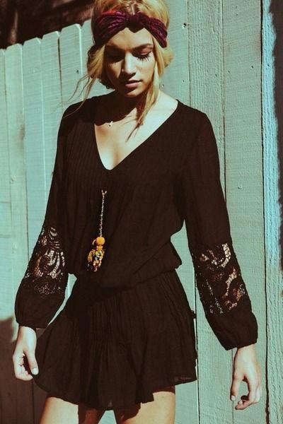 Boho style. Dress.  tumblr_myjapzB4Et1rlm74eo1_400.jpg 400×600 пикс