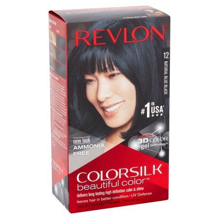 Beauty Revlon Colorsilk Hair Color For Black Hair Hair Color Dark