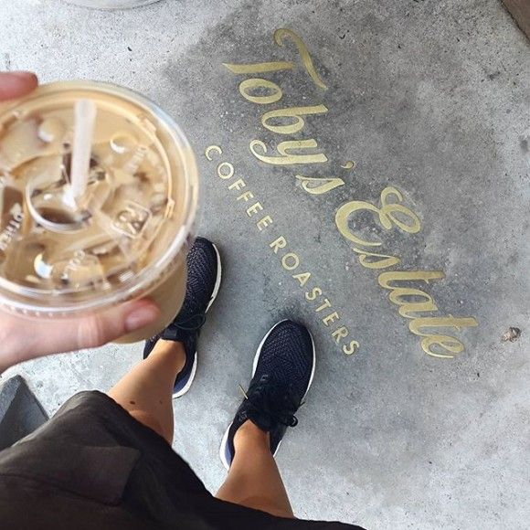 toby's estate coffee, new york, iced coffee