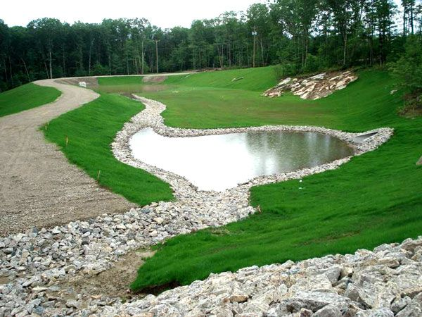 34 best stormwater ponds images on pinterest ponds for Design of water harvesting pond