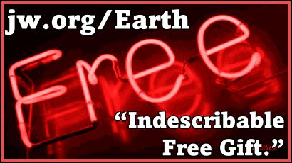 """... full article Link: jw.org Online Library Be Compelled by God's """"Indescribable Free Gift"""" Watchtower w16 January pp. 12-16 http://wol.jw.org/en/wol/d/r1/lp-e/2016043?q=free&p=par"""