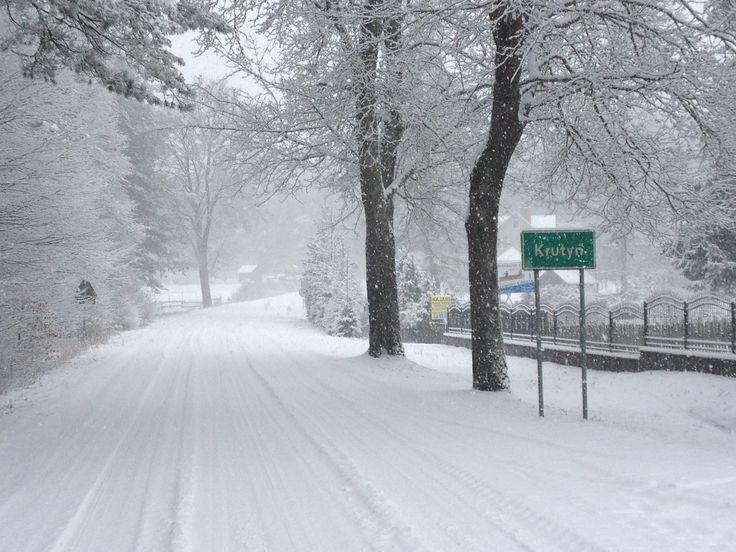 Zimowa Krutyń styczeń 2016