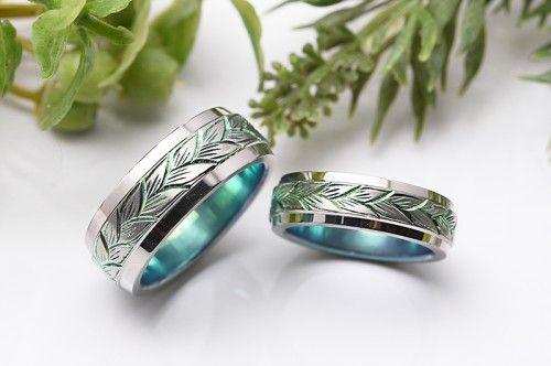 結婚指輪|デメテル。群馬県太田市よりお越しくださいましたご夫婦が選ばれたデザイン。 詳しくは、館林工房スタッフブログ「母なる大地☆結婚指輪」でご紹介しています。