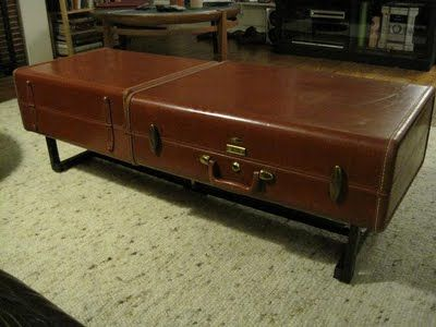 Samsonite Luggage Coffee Table From Killer Robot Designs Home Body Pinterest Vintage