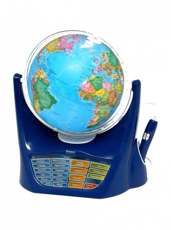 """Scoprite che cosa sono i """"mappamondi interattivi"""" e come possono essere usati dai vostri ragazzi per stimolare l'apprendimento della geografia."""