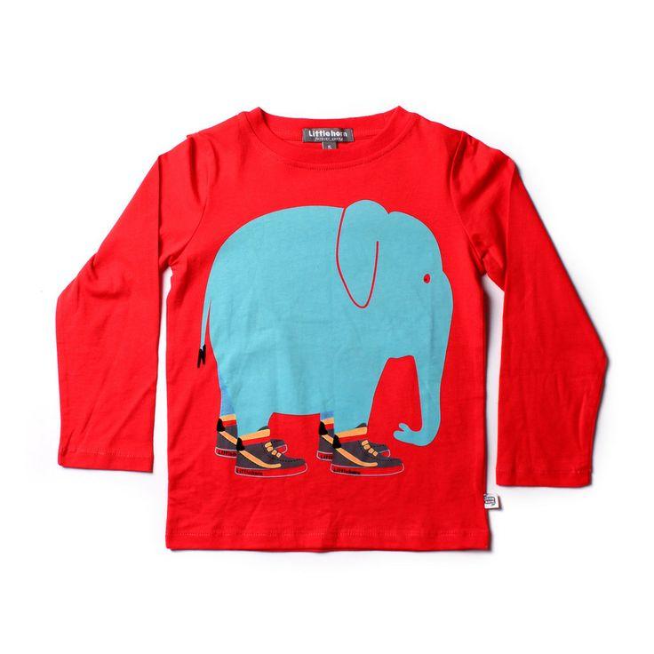 Littlehorn Elephant Hi-Tops Tee