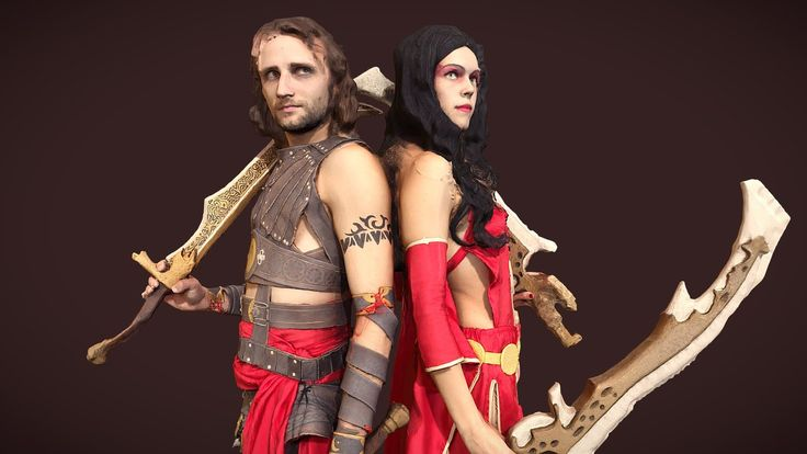 Prince of Persia Cosplayers by FIGURAMA™ - 3D model