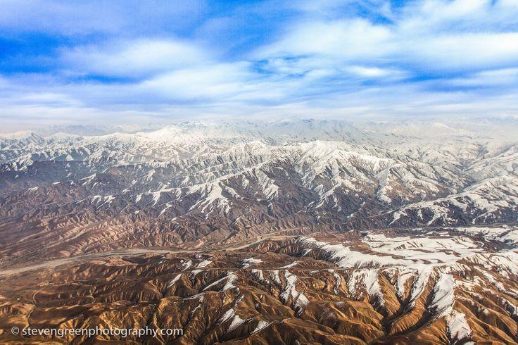 Hindu Kush Snowy Peaks
