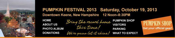 Keene Pumpkin Festival | October 19 in Keene, NH