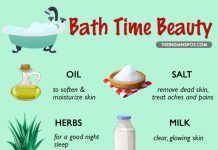 Bath Time Beauty – 10 things to add to your bath water