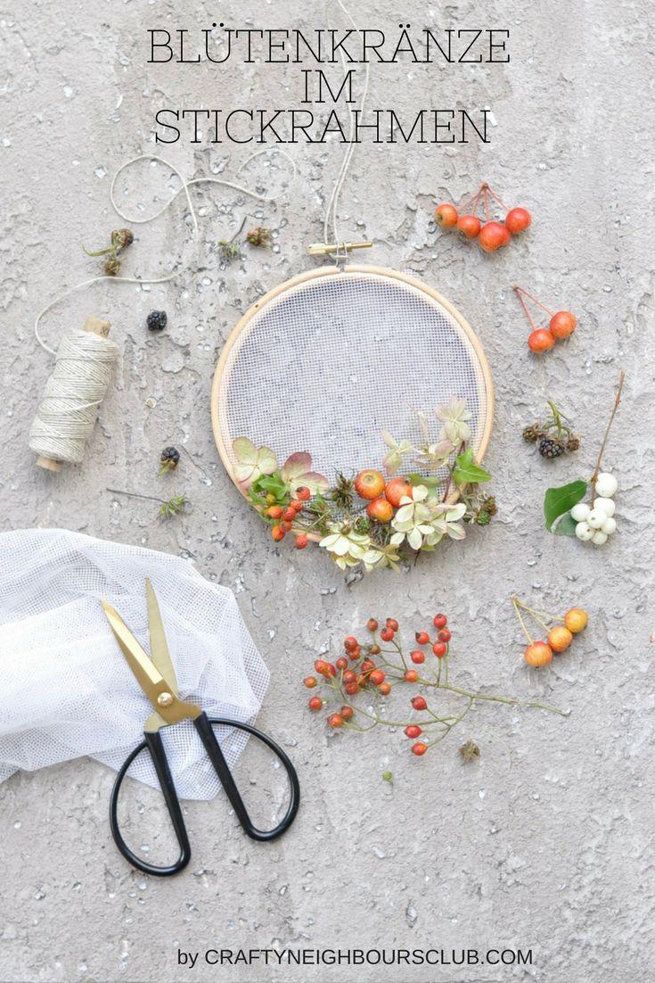 73 besten DIY | Stickrahmen - Embroidery Hoop Bilder auf Pinterest ...
