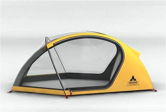 The Four Seasons Tent - It can maintain temperature inside when the outdoor temperature gets as cold as -20°C or as hot as 60°C.