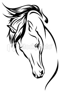 Cheval, Tête d'un animal, Cheval de course, Vectoriel, Mustang Illustration vectorielle libre de droits http://francais.istockphoto.com/illustration-20014982-cheval-tete-un-animal-cheval-course-vectoriel-mustang.php?st=8429625