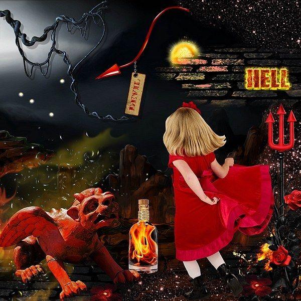Le bon petit Diable by Kitty Scrap Photo Pixabay