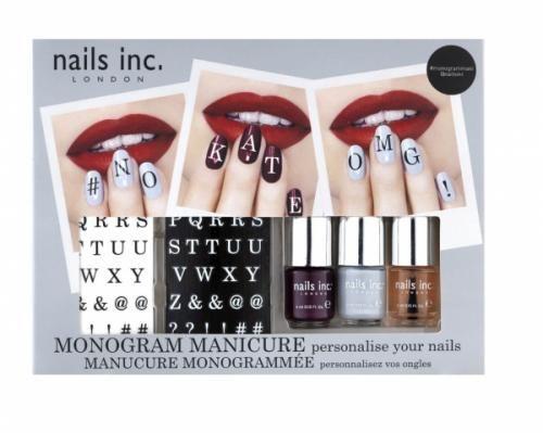 Monogram Manicure | nails inc