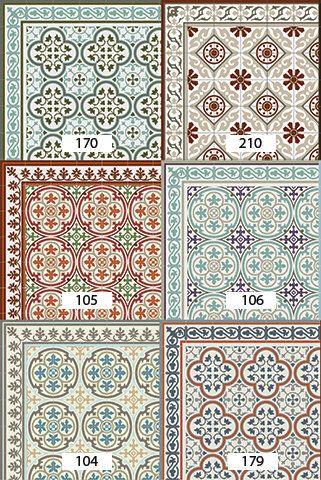 Captivating Versandkostenfrei Fliesen Muster Dekorative PVC Vinyl Matte Linoleum  Robust  178 PVC Teppich, Küche