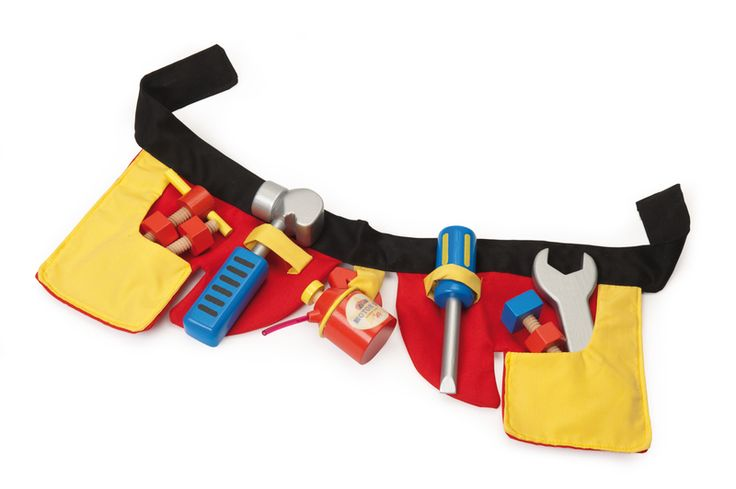 LETV446 - My Handy Toolbelt by Le Toy Van. Distributed by Kaleidoscope.
