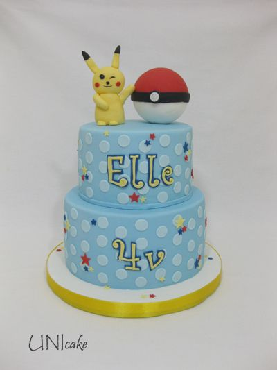 C227. Pokemon-kakku. Pokemon cake