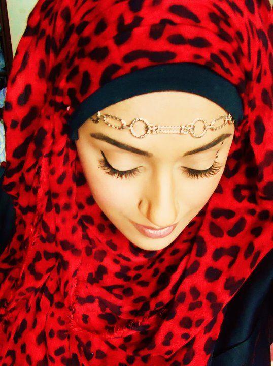 hijab style:) Pretty
