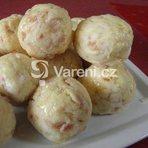 Fotografie receptu: Kynuté šunkové knedlíky