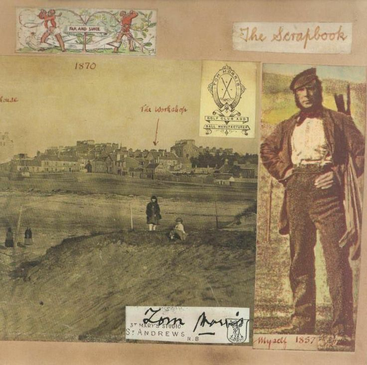 9 best g o g o l f i n g images on pinterest vintage golf david joy scrapbook of old tom morris authors signed presentation copy mega book fandeluxe Image collections