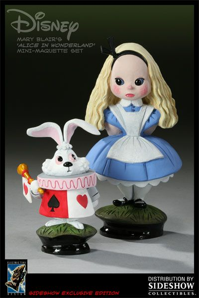 mary blaire | Mary Blair's Alice in Wonderland Polystone Statue - Electric Tiki ...