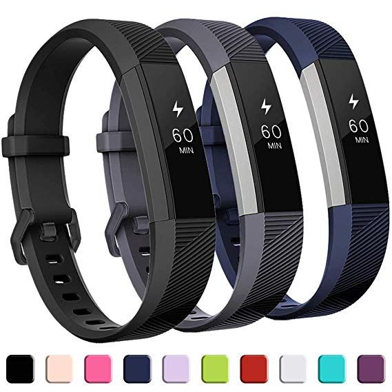 Flexible Adjustment Wrist Band Strap Pink Small Best Replace for Fitbit Alta//HR