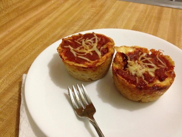 Mini Deep Dish Pizzas (GF) | Yummmmm | Pinterest