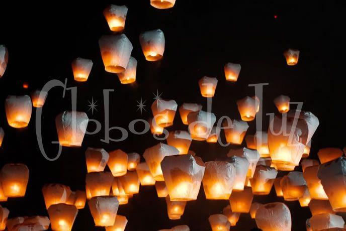 Globos de Luz | Globos de Cantoya | artículos decorar bodas eventos | Ideas originales | decoracion y detalles boda | todo fiestas | Globos de Luz | Globos chinos