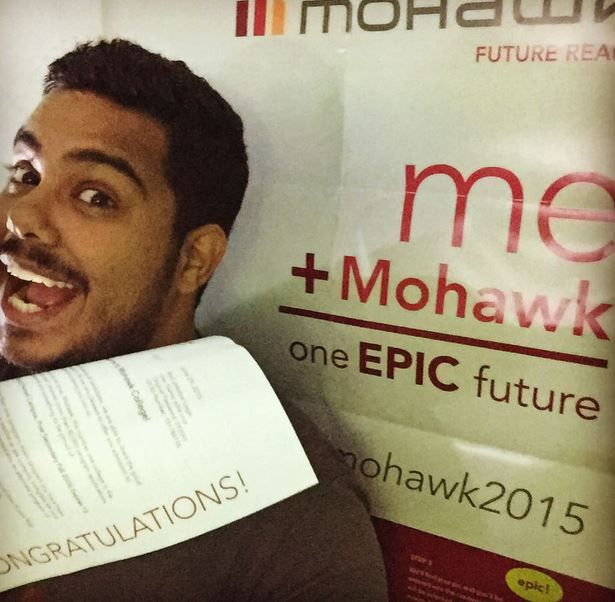 Welcome to Mohawk #Mohawk2015 www.mohawkcollege.ca