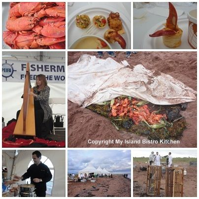 Lobster Party on the Beach at the Fall Flavours Festival. Blog post by @IslandBistroKitchen