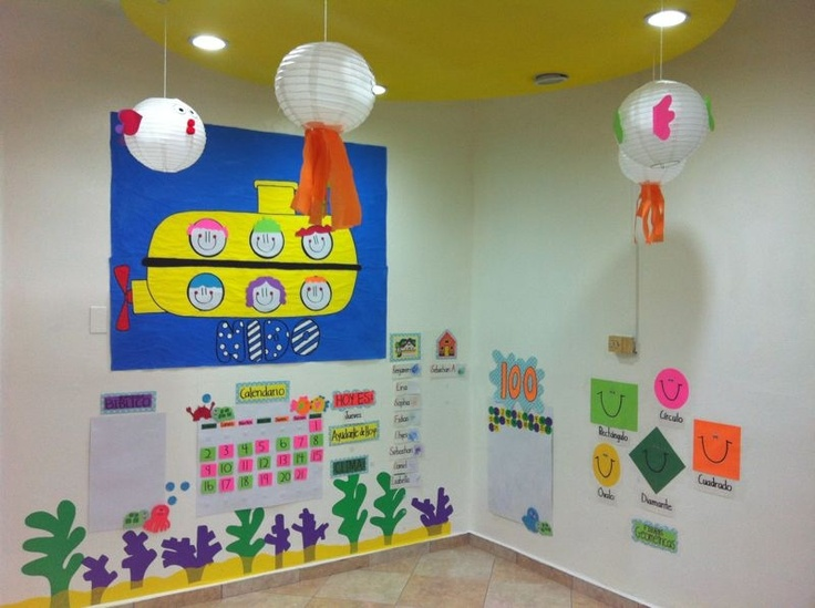 Classroom Decoration Ocean : Ocean themed classroom decoration