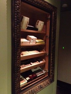 Recessed Wall Humidor I Like Putting A Classy Picture