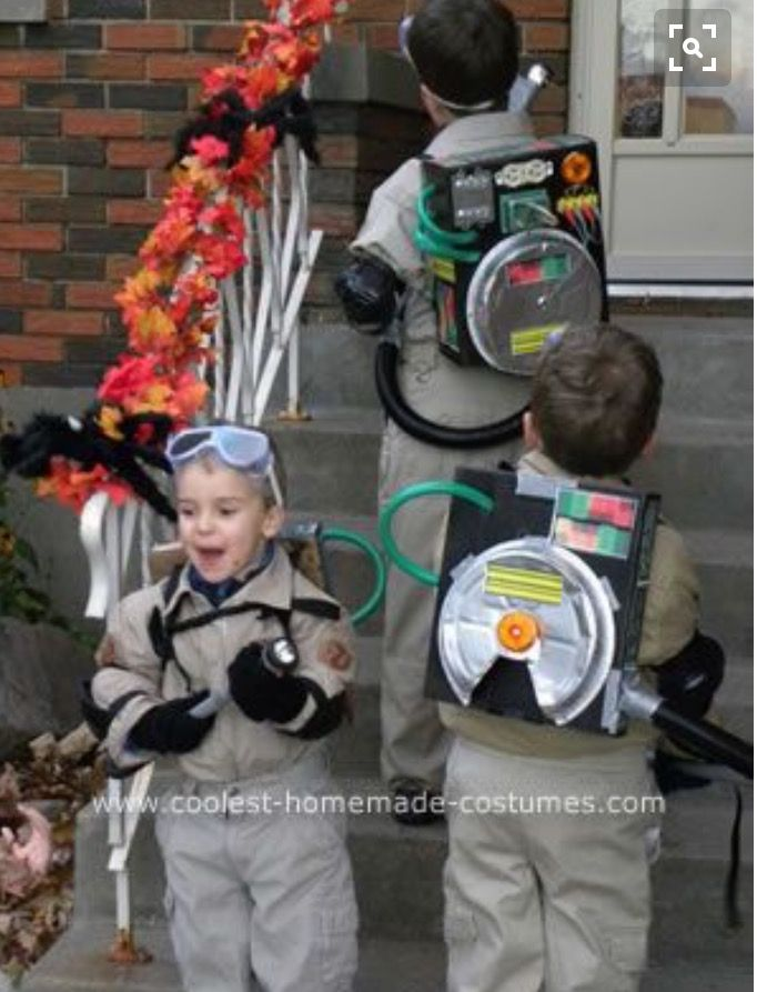 Ghostbusters Costume Homemade Ghosbusters Pinterest Homemade Ghostbusters And Costumes